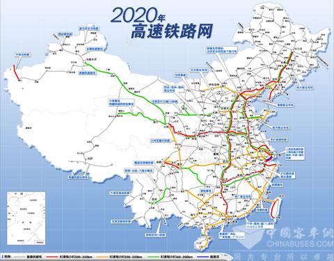 十二五高铁规划图 中国高铁规划五纵四横 济青高铁最新规划图 铁路
