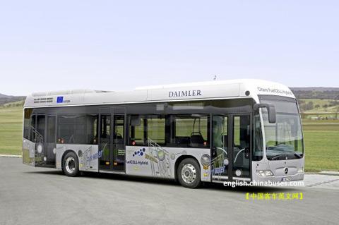 梅赛德斯-奔驰citaro燃料电池混合动力客车高清图片